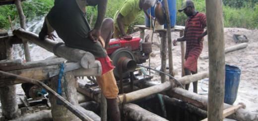 Gem mining Lanka