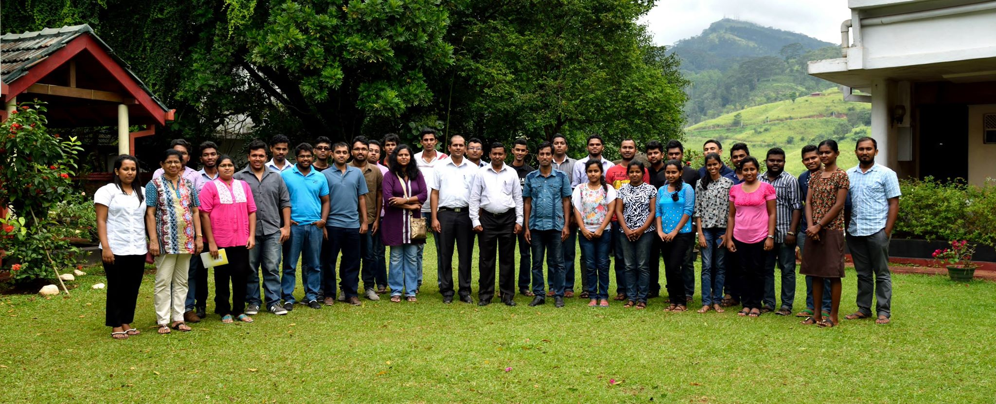 Field trip to National Institute of Fundamental Studies (15)