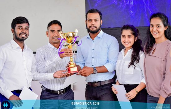 Champions at the ESTADISTICA challenge trophy