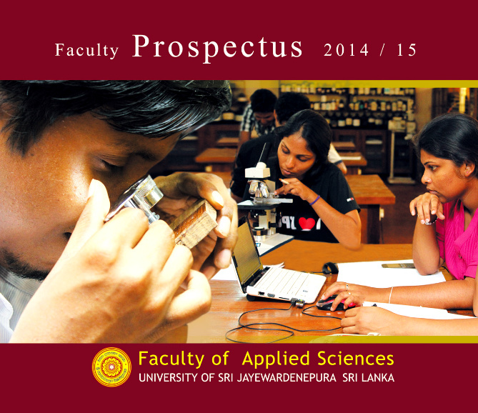 Prospectus of Faculty of Applied Sciences 2014/ 2015