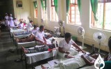 Blood donation campaign by Applied Science Students