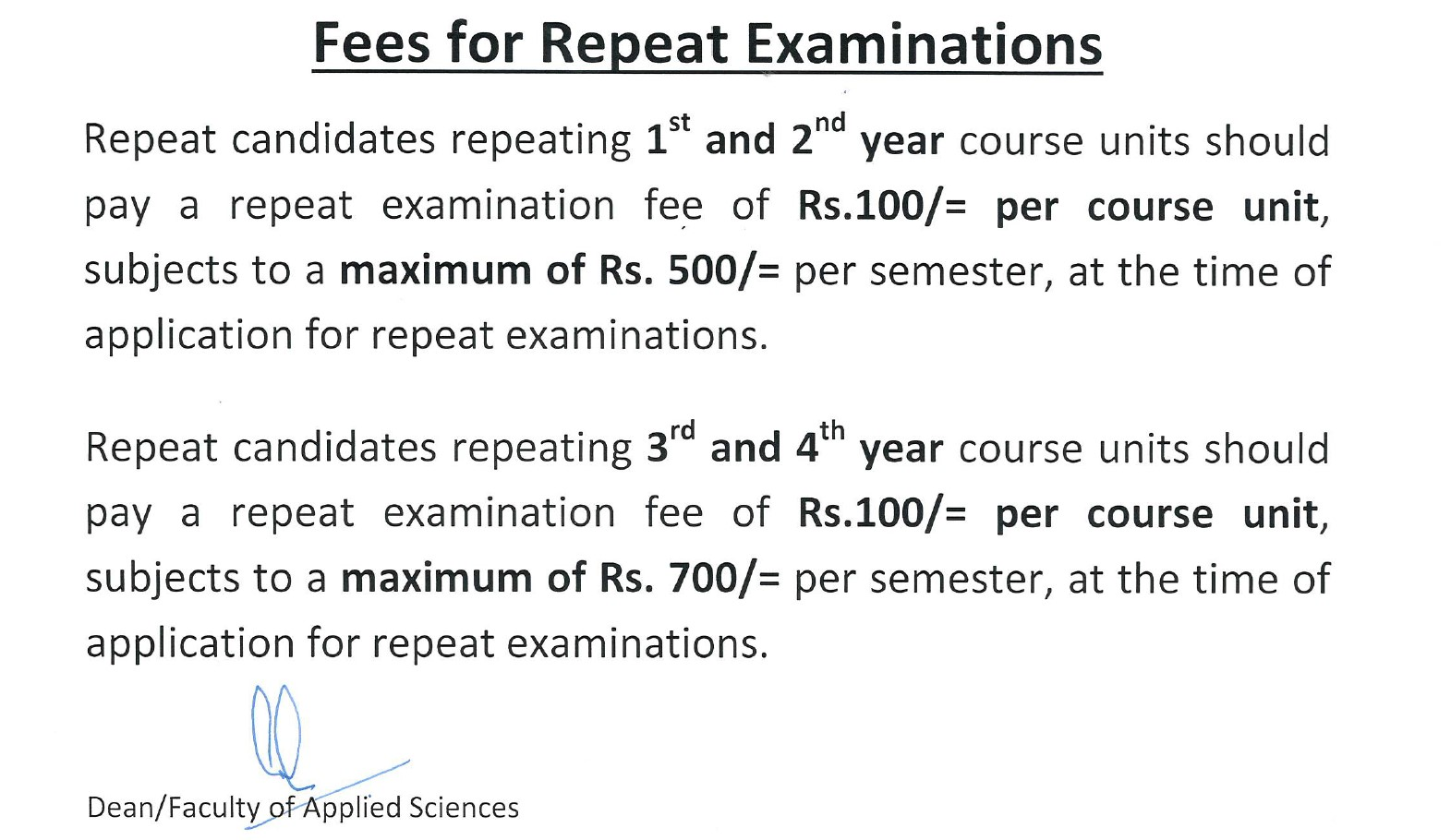 fees-for-repeat-exam