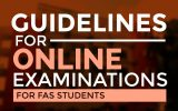 Guidelines and Instructions to Online Examinations (Time-Bound)