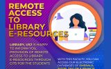 Remote Access to Library E-Resources