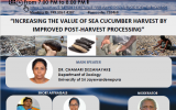 Webinar on Sea Cucumber